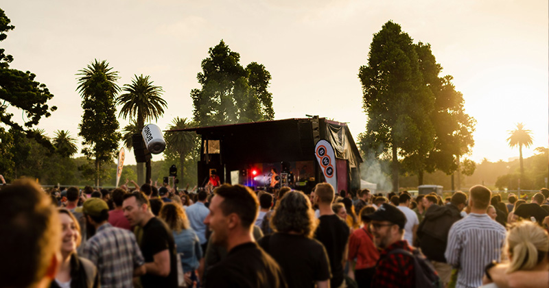 Sunset at Sydney BeerFest 2019